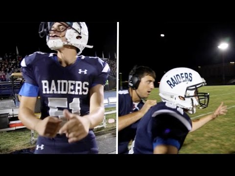 Deaf Student Plays For School American Football Team