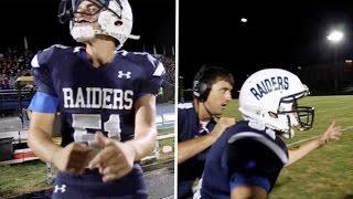 Deaf Student Plays For School American Football Team