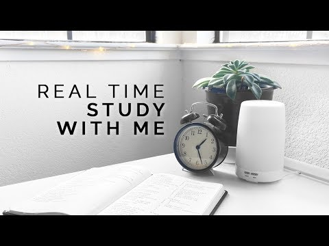 Study With Me: Real Time Pomodoro Session