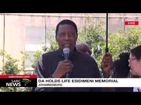 DA holds Life Esidimeni memorial