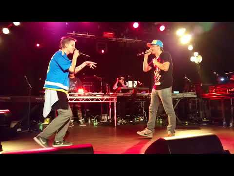 Boy raps 'Gang Related' faster than Logic, EVERYBODY Tour Berlin