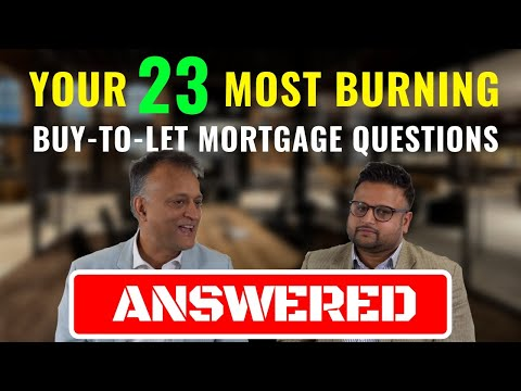 Buy To Let Mortgage UK - Explained | Q&A (Time Stamped)