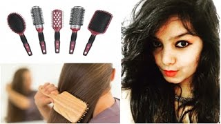 Choose best comb for your hair   Use Wooden wide tooth comb to grow your hair.