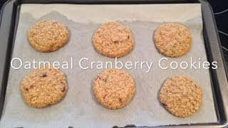 Cranberry Oatmeal Delight: 60 Second Recipe