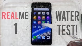 OPPO Realme 1 Water Test! Actually Waterproof?