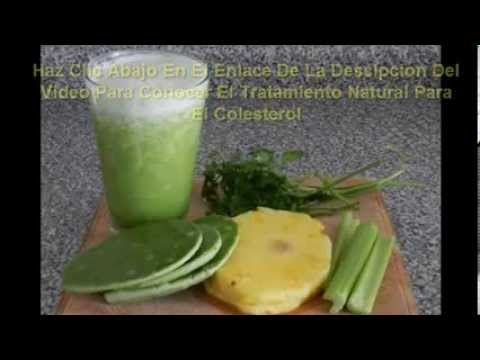 remedio casero para colesterol alta
