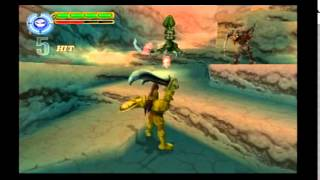 Maximo Vs. Army Of Zin Walkthrough (PS2) level 15: The Drained Depths! (WTF NO WATER!!??)