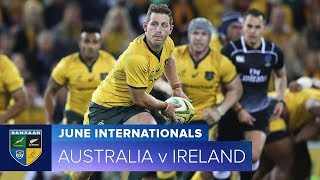 2018 June Test Series:  Second Test – Australia v Ireland