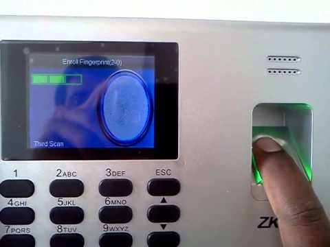 logiciel pointeuse zkteco k40