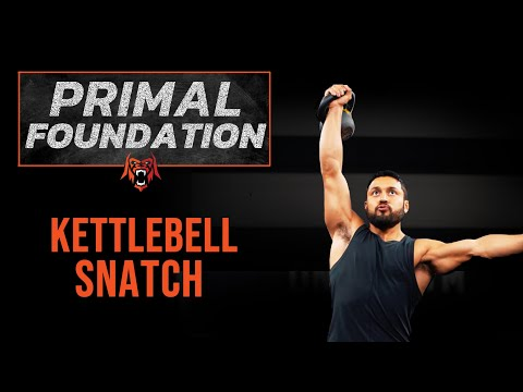 Primal Foundations | How to Kettlebell Snatch | Eric Leija