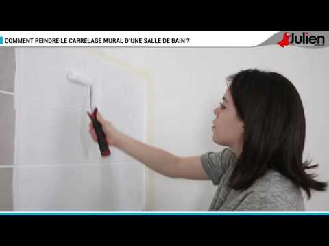 Comment Peindre Le Carrelage Mural D Une Salle De Bain