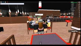 Scammers at TGI Friday's. (ROBLOX)