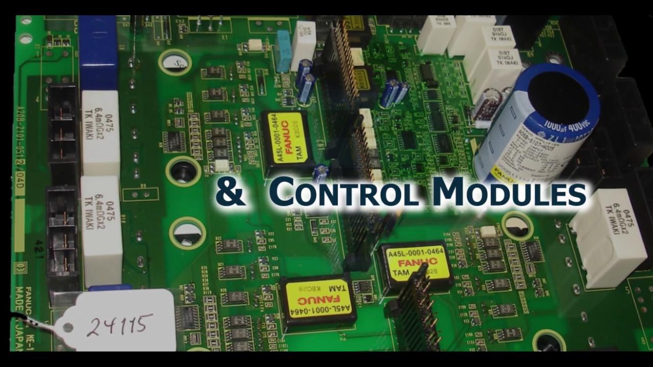 Fanuc Repair | Servo Amps| Pendants | Drives | EIC Repair on