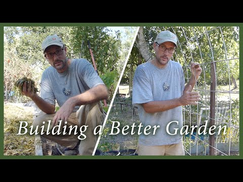 Garden Soil Life & Garden Trellis: Cheap & Easy Methods to Build Both!