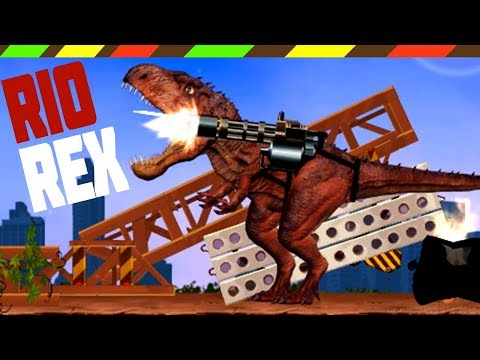 RIO REX: Tyrannosaurus Rex - Full Walkthrough | Khủng Long Tấn Công | DCTE VN