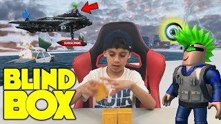 Roblox Blind Box Toy Opening in JailBreak / Find hidden Item / Shoutouts