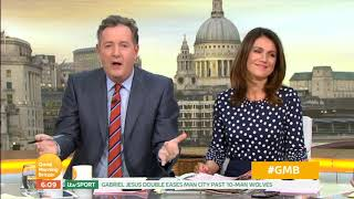 Piers Morgan Loves the New Gillette Advert