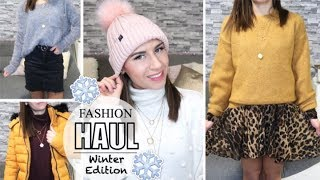 WINTER FASHION HAUL ❄️ ZARA • H&M • Tally Weijl • SHEIN • Chiquelle