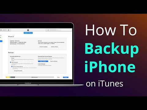 How to Backup Everything on iPhone with/Without iTunes (2019)