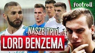 Benzema najlepszy napastnik w historii! | Piątek, Milik i Lewandowski razem na boisku?