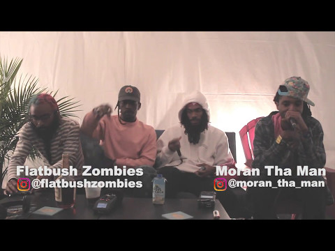 Moran Tha Man Interviews Flatbush ZOMBIES at #ShakyBeats Festival