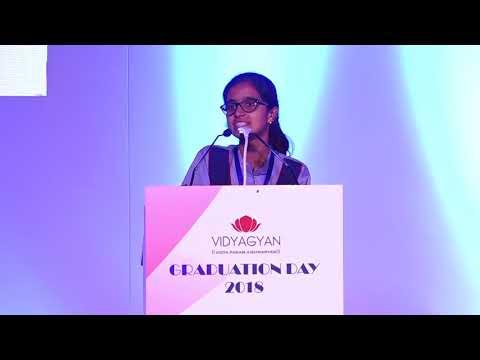 Sudeeksha, Student of VidyaGyan Bulandshahr | VidyaGyan Graduation Day 2018
