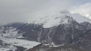 Грузия Сванети горнолыжный курорт Титнульди Titnuldi