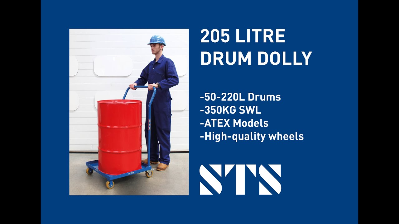 205 Litre Drum Dolly