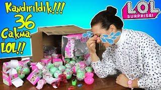 KANDIRILDIM !! Amerikadan LOL Bebek 2. Seri Sürpriz Yumurta Alışverişim | Fake Lol | Bidünya Oyuncak
