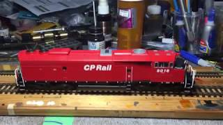Bowser CP Rail SD40-2F , Red B…