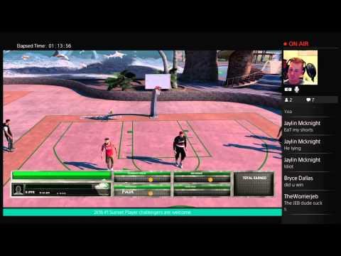 NBA 2k16 Park Grind