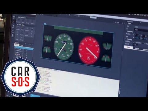 Lotus Esprit Digital Dash | Workshop Uncut | Car S.O.S.