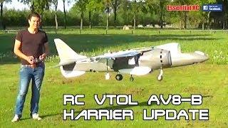 UPDATE: LARGE 1:8 SCALE AV-8B HARRIER VTOL PROTOTYPE (Designed and ...