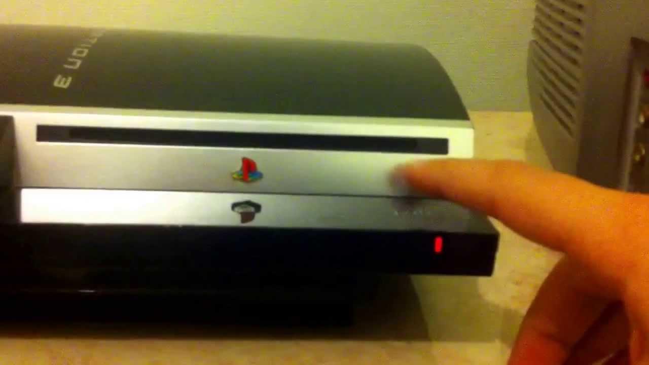 Problème au démarrage de la PS3 FAT