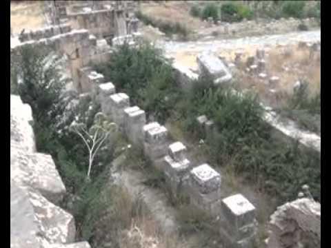 Les ruines romaines de Djemila ancienne Cuicul