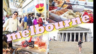 QUEEN VICTORIA Market + Shrine Of Remembrance + MELBOURNE Food | SYDNEY + MELBOURNE 2018 Episode 6