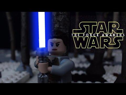 Lego Star Wars the Force Awakens: Rey and Finn vs. Kylo Ren