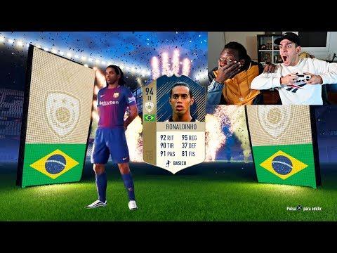 ¿CONSEGUIMOS A RONALDINHO? FIFA 18