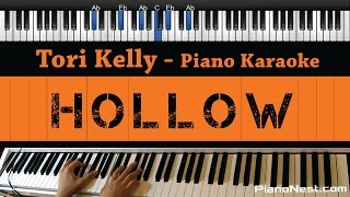 Tori Kelly Hollow Piano Karaoke Sing Along Cover With Lyrics