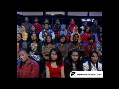 Medis Band at Hitam Putih Trans 7 14 Desember 2015