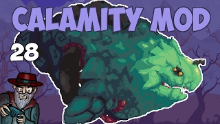 Terraria # 28 LEVIATHAN BOSS! - 1.3.4 Calamity Mod Let's Play
