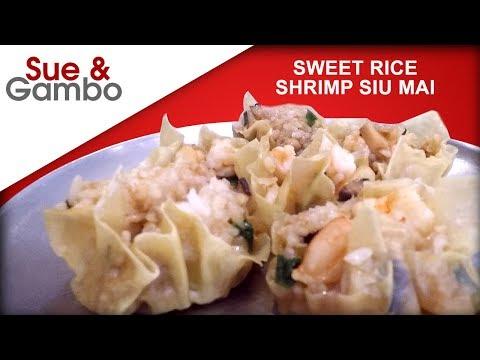 sweet-sticky-rice-shrimp-siu-mai-dumplings