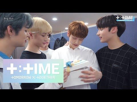 [T:TIME] SOOBIN's Thank you for your efforts - TXT (투모로우바이투게더)
