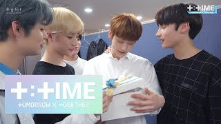 [T:TIME] SOOBIN's Thank you for your efforts - TXT (투모로우바이투게더)