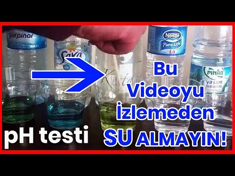 Bu Videoyu İzlemeden Şişe Su Almayın ! pH Testi 2.Bölüm (Sponsorsuzdur)