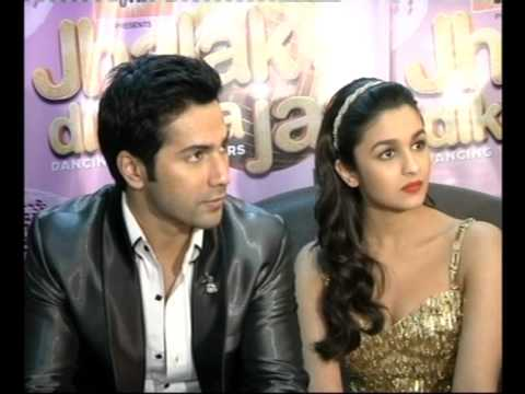 Team of 'Student of the Year' on the sets of Jhalak Dikhlaa Jaa