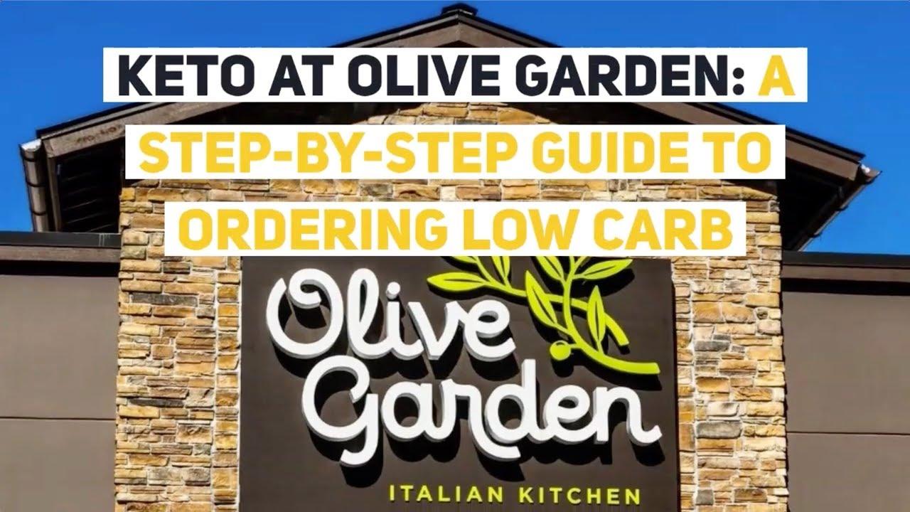 keto diet olive garden