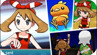Pokemon Omega Ruby & Alpha Sapphire - All Rival May Battles (1080p60)
