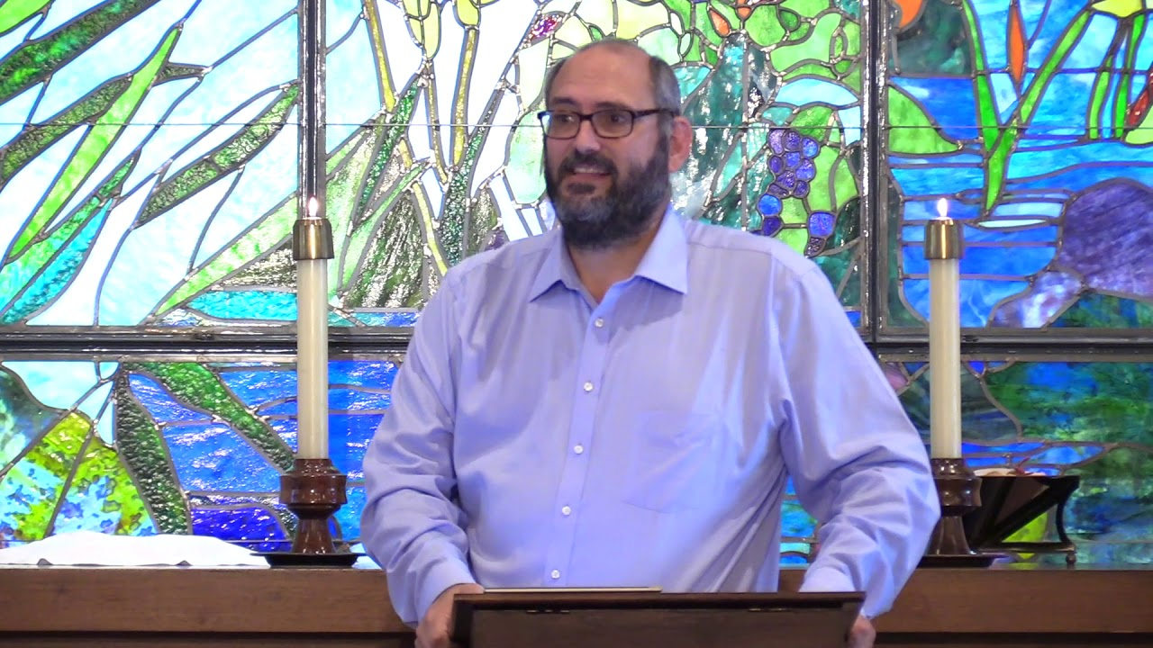 (Sunday, September 16th,2018) Robb Miller preaching