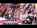 MEGA Lip Product Declutter 2017 | Lipstick, Gloss, Liquid Lipstick, Balms